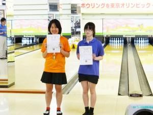 高校生女子の部 入賞者